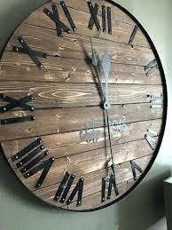 big wooden clock clocks interesting big wooden wall clocks inch wall clock black wooden clock grey big wooden clock wall