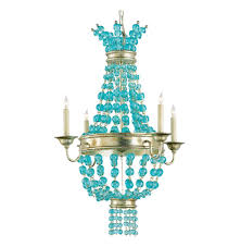 lovely aqua blue chandelier 2 3531