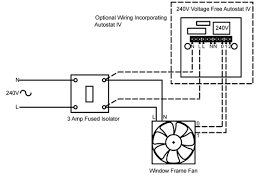 weasel window frame fan for kitchen and bathroom rhl 240v window frame fan wiring diagram
