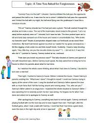 curious kids learning place essay a time you asked for forgiveness