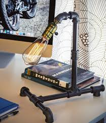 Steampunk Pipe Light Steampunk Themed Room