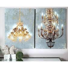 chandeliers chandelier wall art set of 2 led light up chandelier canvas wall art chandelier