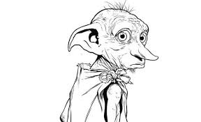 Harry Potter Gifts On Twitter Harry Potters Dobby Free Coloring