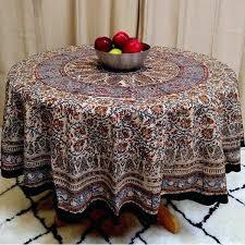 round cotton tablecloth mandala fl paisley block print cotton tablecloth rectangular inch square round napkins cotton