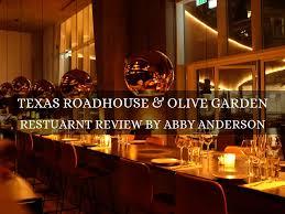 texas roadhouse olive garden
