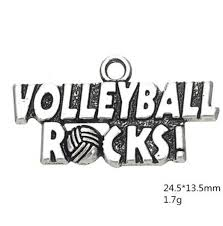 Volleyball Word 2019 Volleyball Rocks Sporty Word Charm From Yzswhn123456 15 23 Dhgate Com