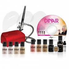 dinair airbrush makeup kit personal pro fair red pressor rakuten ebay sears