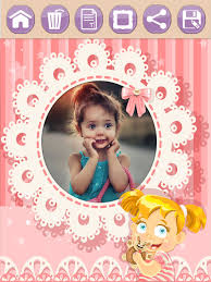 screenshot 1 for baby photo frames for kids pro