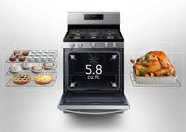 Cooks Brand Kitchen Appliances Samsung Freestanding Gas Range Samsung Nx58h5600ss Appliances