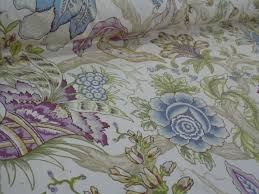 home decor designer fabric. back in stock, pattern radiance color heather designer floral home decorating fabric decor