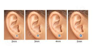 How To Buy Common Stud Post Earrings Sizes 2mm 3mm 4mm
