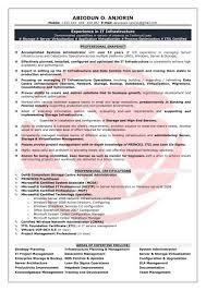 Mid Level Manager Resume Resume Cv Cover Letter