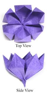 Paper Flower Origami How To Make Origami Flower