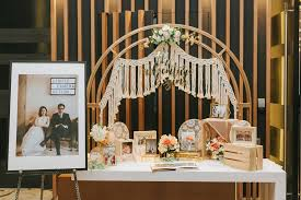 Reception Table Set Up 6 Places In Singapore For Affordable And Trendy Wedding