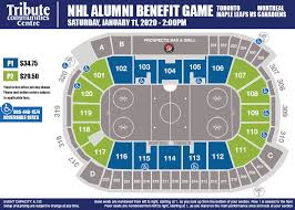 Toronto Maple Leafs Virtual Seating Chart Our Hockey Heroes Tribute Communities Centre
