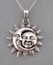 sun and moon necklace mightisnotright org twitches necklace clipart moon and sun sterling silver pendant