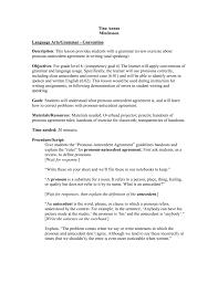 Pronoun Antecedent Agreement Pronouns And Pronoun Antecedent Agreement