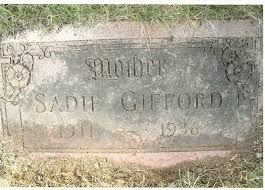 Sadie Jewell/Wade Gifford (1911-1936) - Find A Grave Memorial