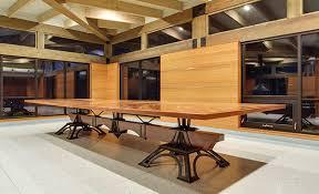 Furniture wood design Wall Custom Dining Table Decor Interiors Custom Furniture Designer James Moseley Design The Heirloom