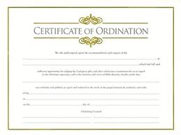 blank ordination certificates amazon com certif ordination minister w gold emboss package of 6