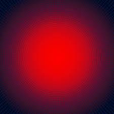 Red Light Burst Technology Digital Concept Futuristic Red Neon Radial Light