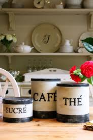 French Canisters Kitchen 17 Beste Afbeeldingen Over Tin Canister Diyoo Op Pinterest