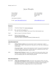 Law School Resume Law School Resume Template] 100 Images Law School Acceptance 85