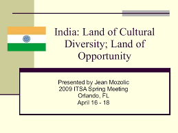 land of cultural diversity land of opportunity