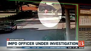Watch Impd Investigating Report Of Officer Involved In Road