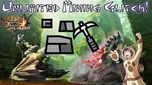 Monster Hunter Generations Light Crystal Monster Hunter 4 Ultimate Unlimited Mining Glitch