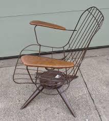 vintage mid century modern patio furniture. Vintage, Mid Century Modern, Eames Era, Wire Chair, Brown, Homecrest, Vintage Mid Century Modern Patio Furniture