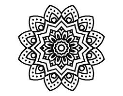 Easy Coloring Pages Of Flowers Flower Color Pages Beautiful Flower
