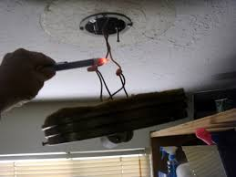 installing and wiring a light fixture dengarden checking for voltage this wire is live
