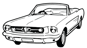 Classic Car Coloring Pages Free Download Jokingartcom Classic Car