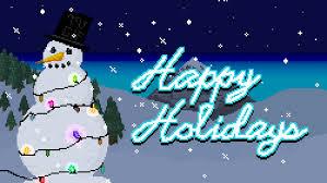 happy holidays snow gif. Plain Gif Happy Holidays GIF Intended Snow Gif P