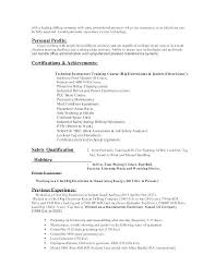Electrician Sample Resume