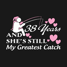 38th anniversary shirt wedding anniversary gifts for each year