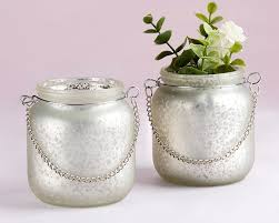 more views light champagne frosted mercury glass hanging lantern