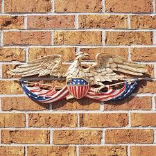 24 patriotic eagle wall decor