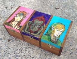 the legend of zelda triforce tribox wooden jewelry box by nerdsncrafts 45 00 legend of zelda legend of zelda zelda and etsy crafts