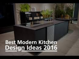Small Picture Best Modern Kitchen Design Ideas 2016 YouTube
