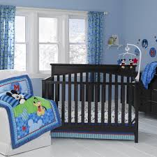 Mickey Mouse Bedroom Nice Home Boys Baby Bedding Decor Contains Fascinating Dark Wooden