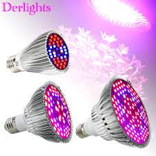 30W/50W/80W <b>Led Grow Light</b> Full Spectrum UV+IR <b>E27</b> Grow Light ...