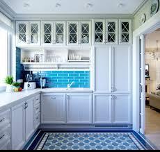 Blue Kitchen Decor
