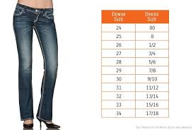 Ag Jeans Size Chart Womens Rock Revival Jeans Size Chart In 2019 Fashion Clothing