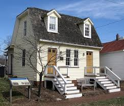 tiny houses in maryland. Jock Sent The Attached Photo Of A Little House In Maryland. Home Was Originally Two Tiny Houses, An Early 19th Century Duplex, Picturesque Old Houses Maryland M