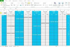 Shift Scheduling Excel Employee Shift Schedule Generator Template Work Excel Maker Free