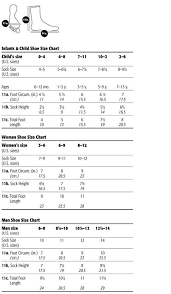 Knitting Yarn Size Chart Foot Size Chart For Socks By Ashley Little Term Knitting