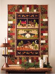 Reach For Your Panel Fabric As Christmas Draws Nigh – Quilting Cubby & christmas-panel-fabric-pattern-moose-the-loose Adamdwight.com