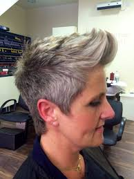 Women S Short Hair Cut With
